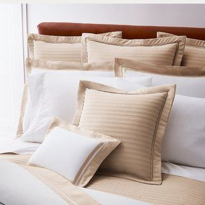 Ralph Lauren Home Bedding - Ralph Lauren Reed King Sham Polished Bronze